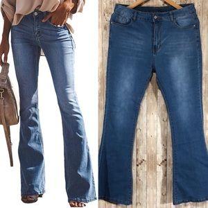 Blue Jean Flare Leg Pants Size 12/13